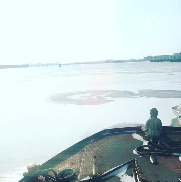 BedinBoat Amsterdam Noord Schellingwoude-winter2018