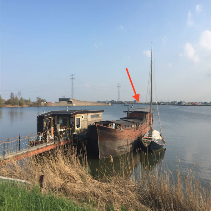 BedinBoat Amsterdam Noord bedandbreakfast Boathouse Schellingwoude